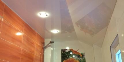 PVC Spanndecken im Bad