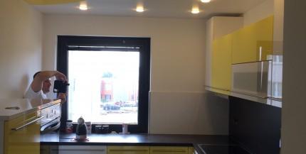 PVC-Spanndecken in der Küche